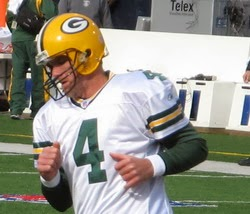 Brett Favre, retired after 17 years of pro football.